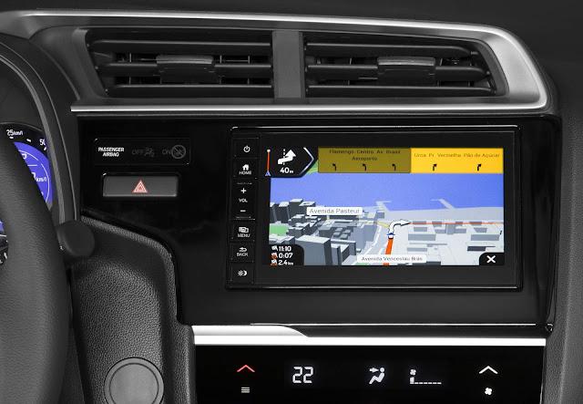 novo Honda FIT EXL 2018 - interior