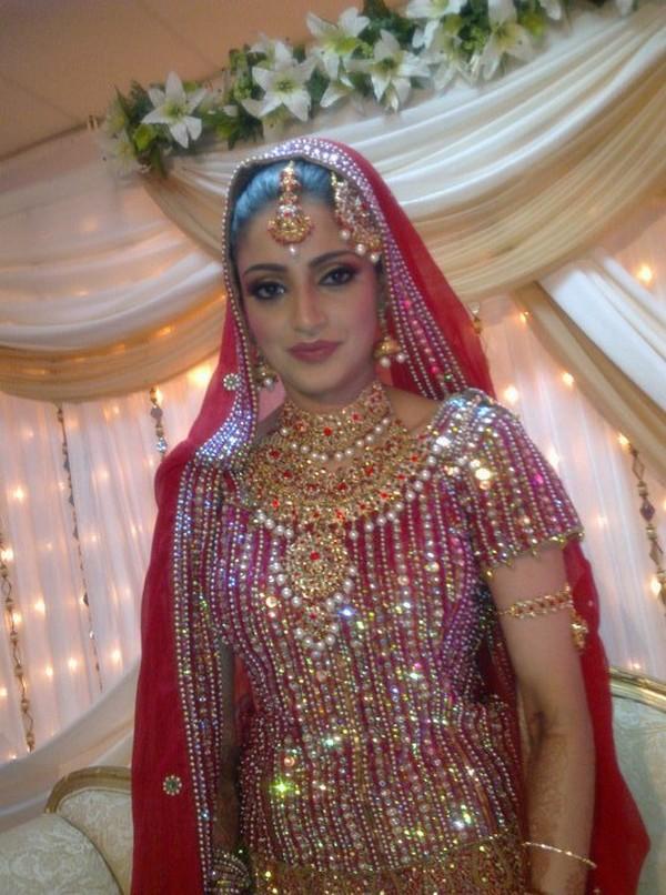 pakistani bridal makeup bride brides mehndi pakistan indian latest hands culture