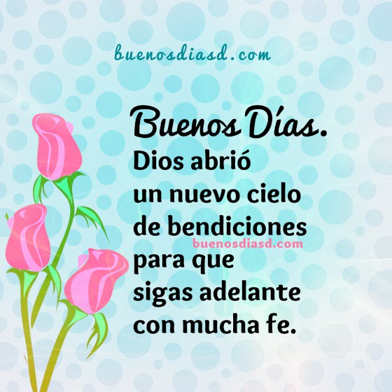 Frases de motivación cristiana de buenos días, mensaje de buenos días cristiano para mi muro de facebook por Mery Bracho.