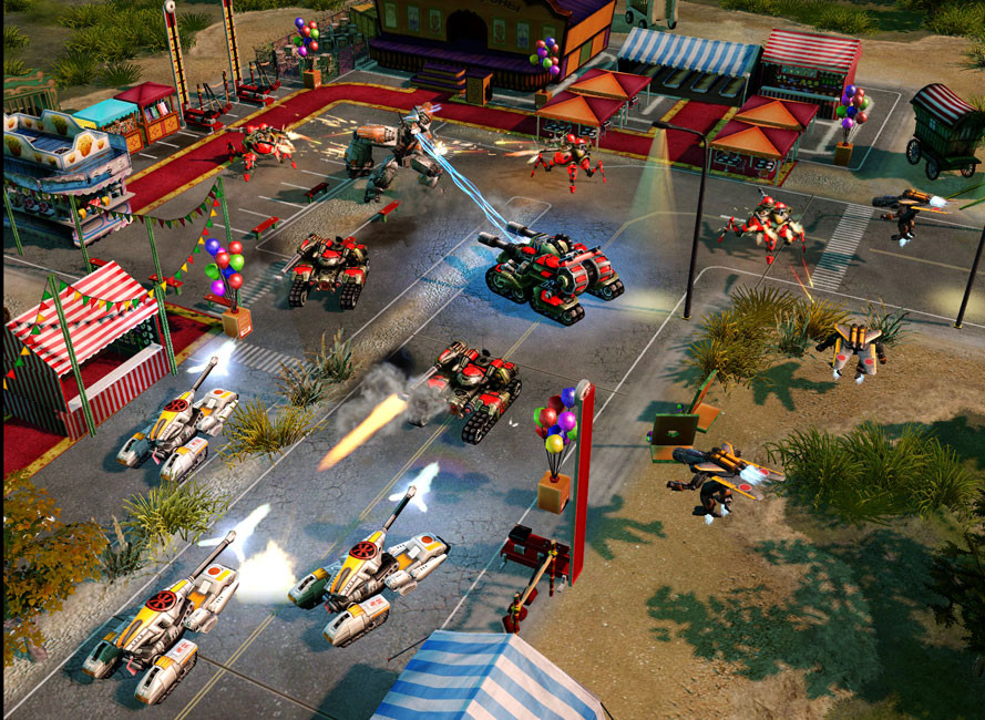 Command & Conquer Red Alert 3 Uprising Download For PC