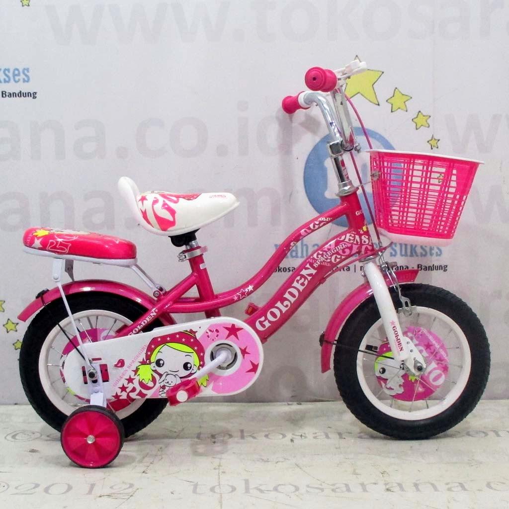 tokosarana™ | Mahasarana Sukses™: Sepeda Anak Golden Juicy