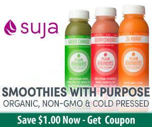 Suja Juice $1 Off Coupon - US Only