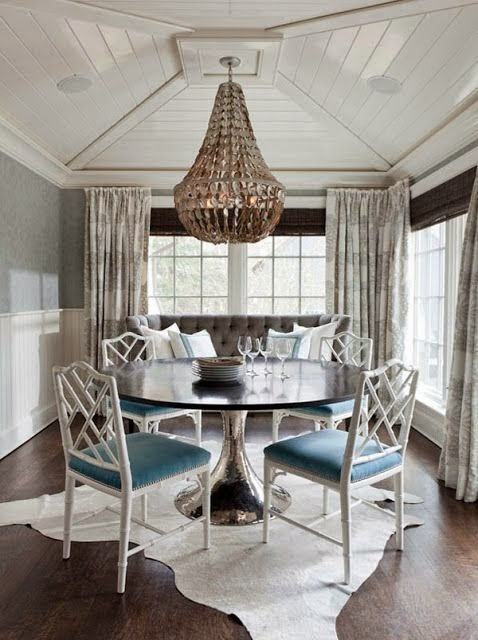 The Green Room Interiors Chattanooga, TN Interior Decorator Designer: Thoughts on Styling the Dining Room