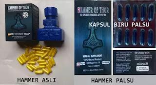 Warna Kapsul Hammer Of Thor Asli