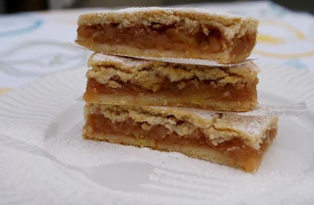 Яблочный пирог «Ленивый»