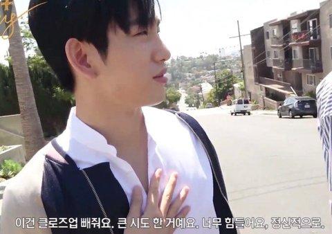 [PANN] Vücut sergilemekten hiç hoşlanmayan GOT7 Jinyoung