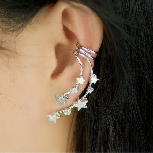 Latest Earring Cuffs For Western Girls By Vancaro From ...