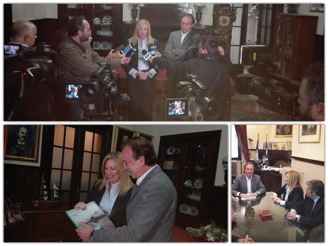 Γιάννενα: Επίσκεψη Φώφης Γεννηματά στο δημαρχείο