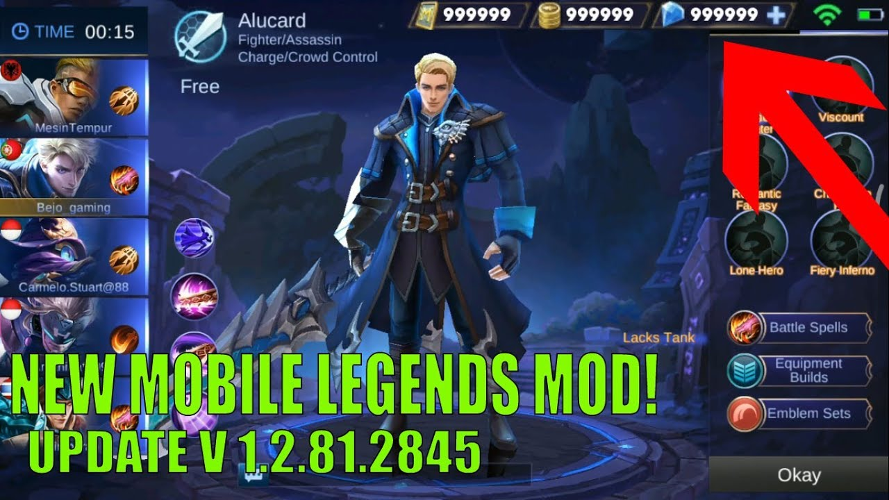 Hacking New Diamond 999999 Pison Club/Ml How To Hack Mobile