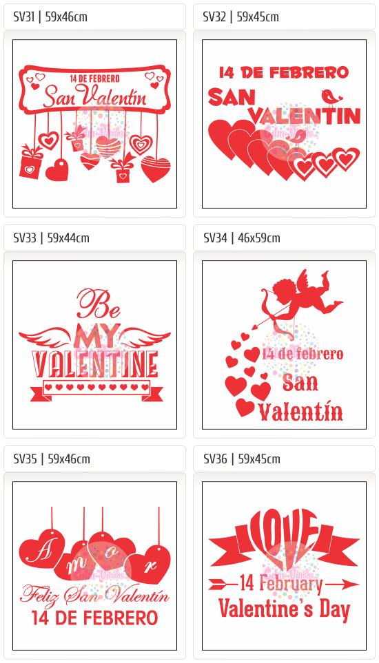 Vinilo Autoadhesivo, Carteles, San Valentin, Dia de los Enamorados, vidrieras, calcos, stickers, ploteos, liquidación, Sale, Rebajas