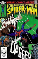 Spectucular Spider-Man #64 1st Cloak & Dagger comic cover