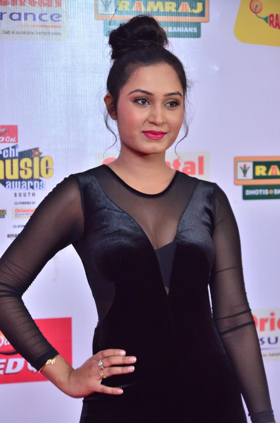 Actress Venila at Mirchi Music Awards South 2017 Stills