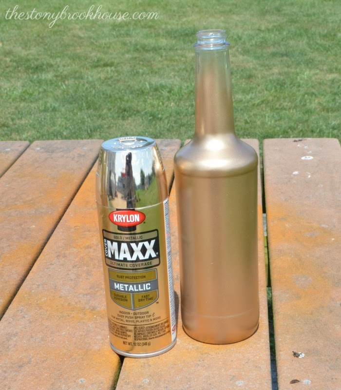 Krylon Cover Maxx Metallic Spray Paing