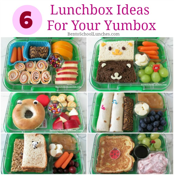 6 Fun Lunchbox Ideas For Your Yumbox