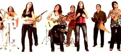 Foto del Grupo Marú con sus músicos