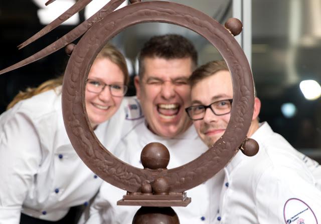 Championnat du Chocolat à Coblence, das Schokoladen-Wochenende im Koblenzer Schloss.