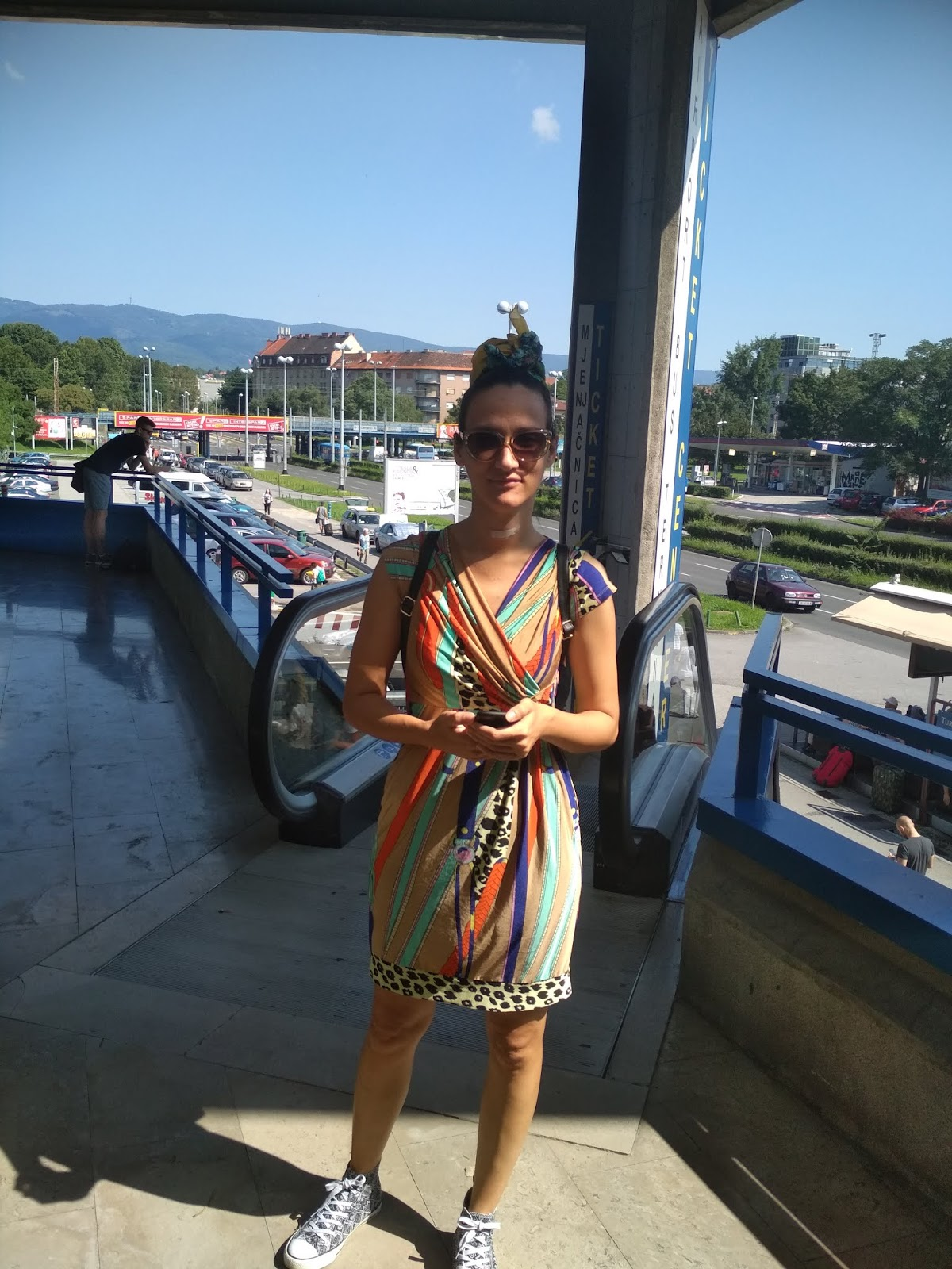 #modaodaradosti #summerdress #printeddress