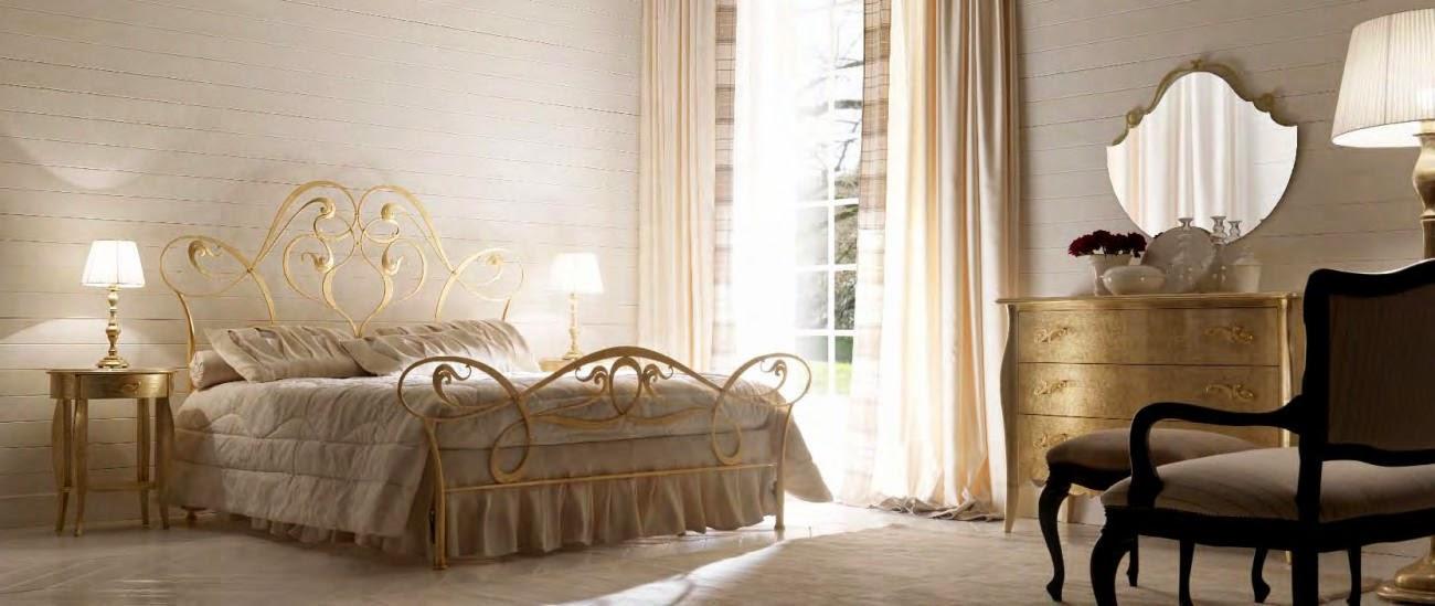 Pat - dormitor - fier - forjat - Italia - Gisele art.6020 | Mobila dormitor italiana - paturi tapitate de lux - mese living - scaune - lemn - clasic - pret - Bucuresti - Constanta - Pitesti - Brasov - Cluj - Timisoara