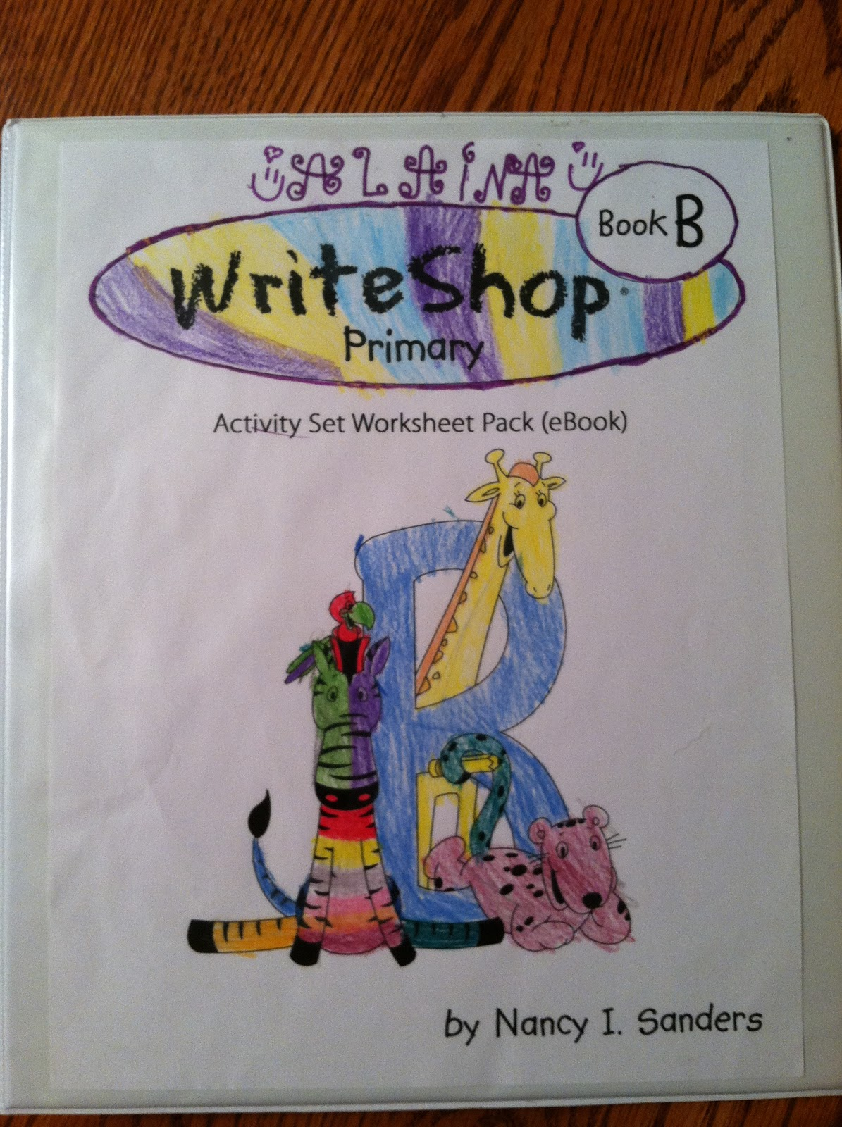 WriteShop offered Homeschool Crew members WriteShop Primary Book A, B, C, &  Junior D. I chose Primary Book B to use with Alaina since she is in the  second ...