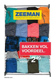 Zeeman folder Week 18, 22 April – 05 Mei 2017