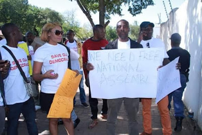 nigerians south africa protest saraki