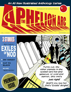 aphelion arc issue 1 cover