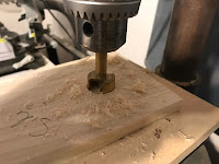 Drilling 1 inch holes