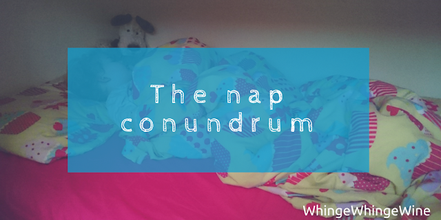 The nap conundrum: The nap dropping toddler