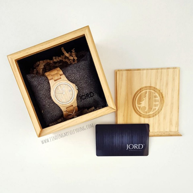 Jord wooden keepsake box
