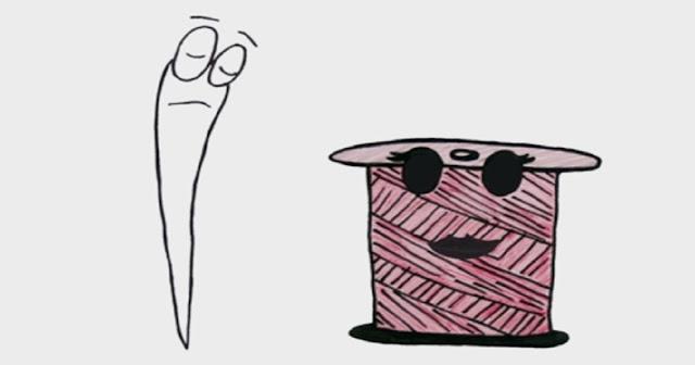 """O curta-metragem """"A agulha e a linha"""" é baseado em """"Um apólogo"""", de Machado de Assis, conto publicado originalmente no livro Várias histórias, em 1896, e considerado um dos mais lidos da lavra de contos do Bruxo do Cosme Velho, epíteto pelo qual o autor é conhecido."""
