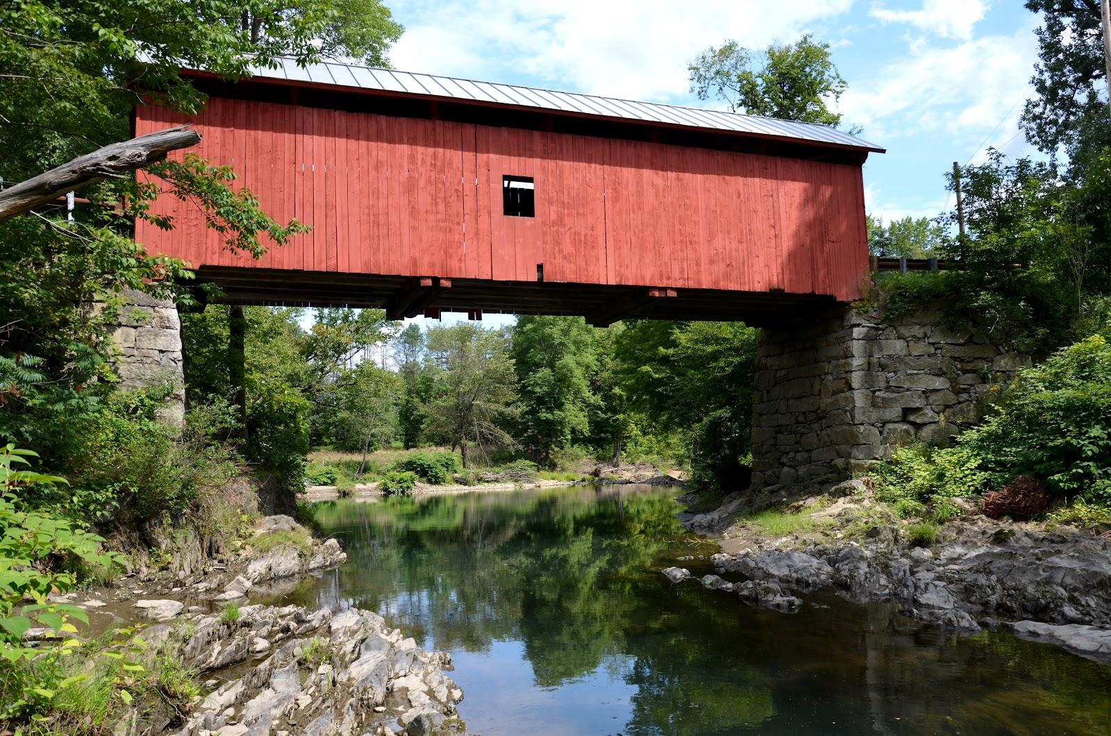 Baugh's Blog: Photo Essay: Covered Bridges in Vermont - photo#36