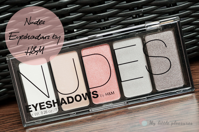 Nudna paletka by H&M, czyli Nudes Eyeshadows ;)