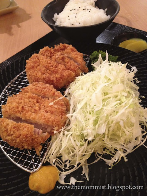 Hire katsudon set at Yabu