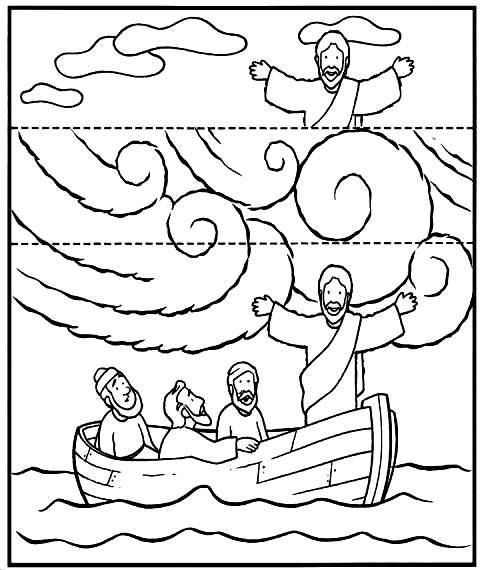 Apascentar os Pequeninos: Jesus acalma a tempestade