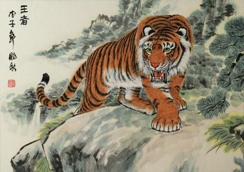 Niezmywalna Tozsamosc Tygrys 虎 Znaczenie Symbolika I Tatuaż