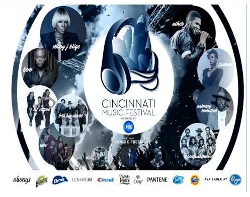 Top R & B Musician's Join Cincinnati Music Festival