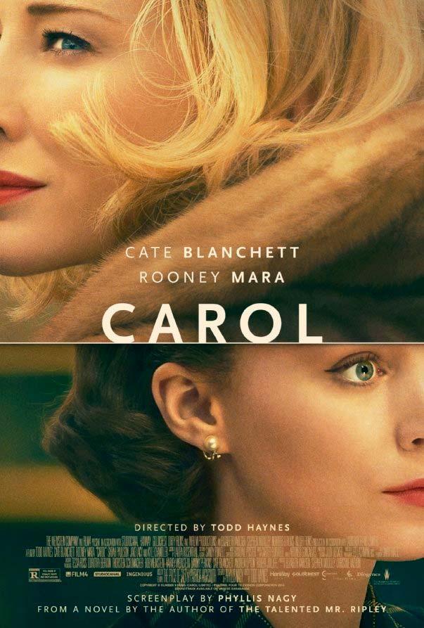 CAROL (2015). Filmando la progresión del amor y el deseo. « LAS ...