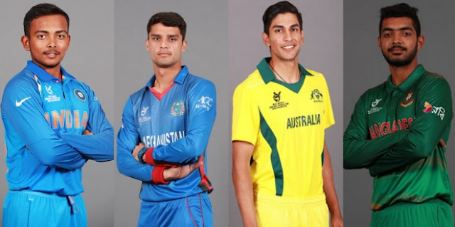 Under 19 World Cup 2018 Squads