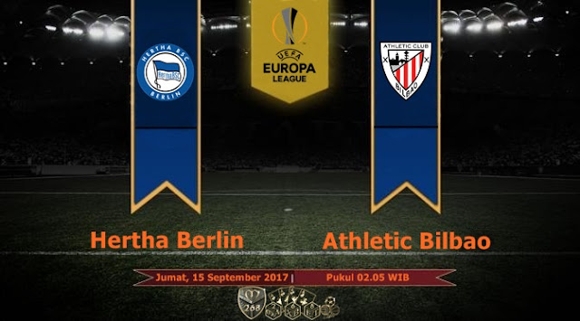 Prediksi Bola : Hertha Berlin Vs Athletic Bilbao , Jumat 15 September 2017 Pukul 02.05 WIB
