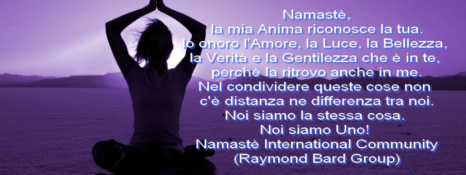 Namaste International Community Frasi Citazioni E Aforismi