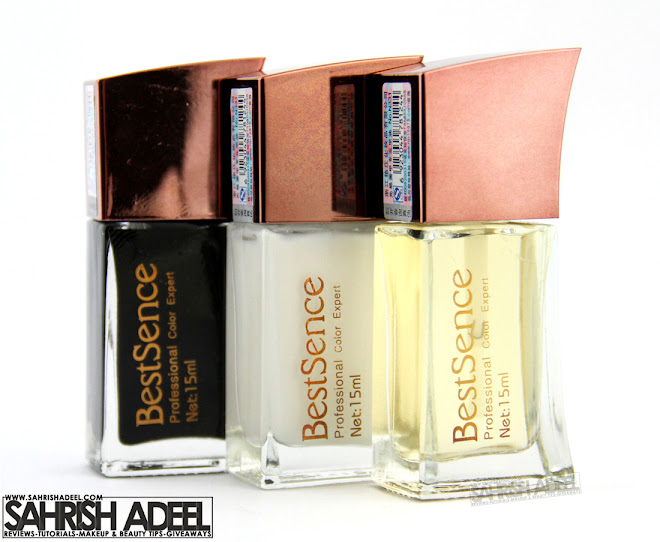 Best Sence Colorless Color Glossy Nail Polishes - Review