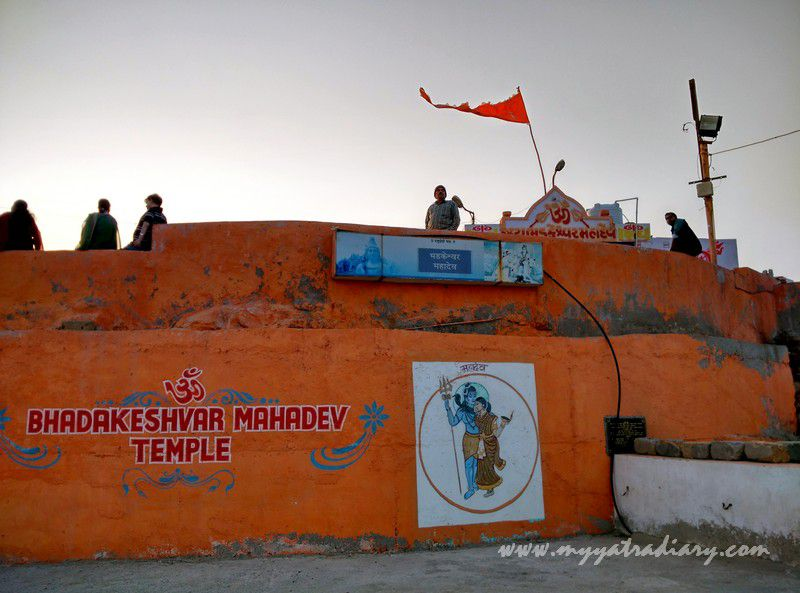The pretty Bhadkeshwar Shiv Temple, Dwarka, Gujarat