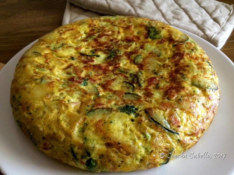 tortilla-brócoli-calabacín-entera