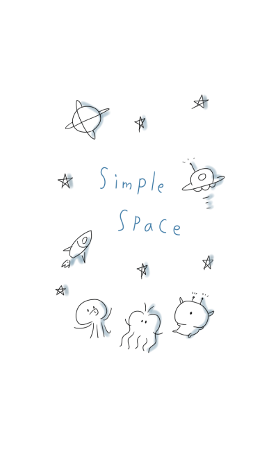 Simple space Theme.