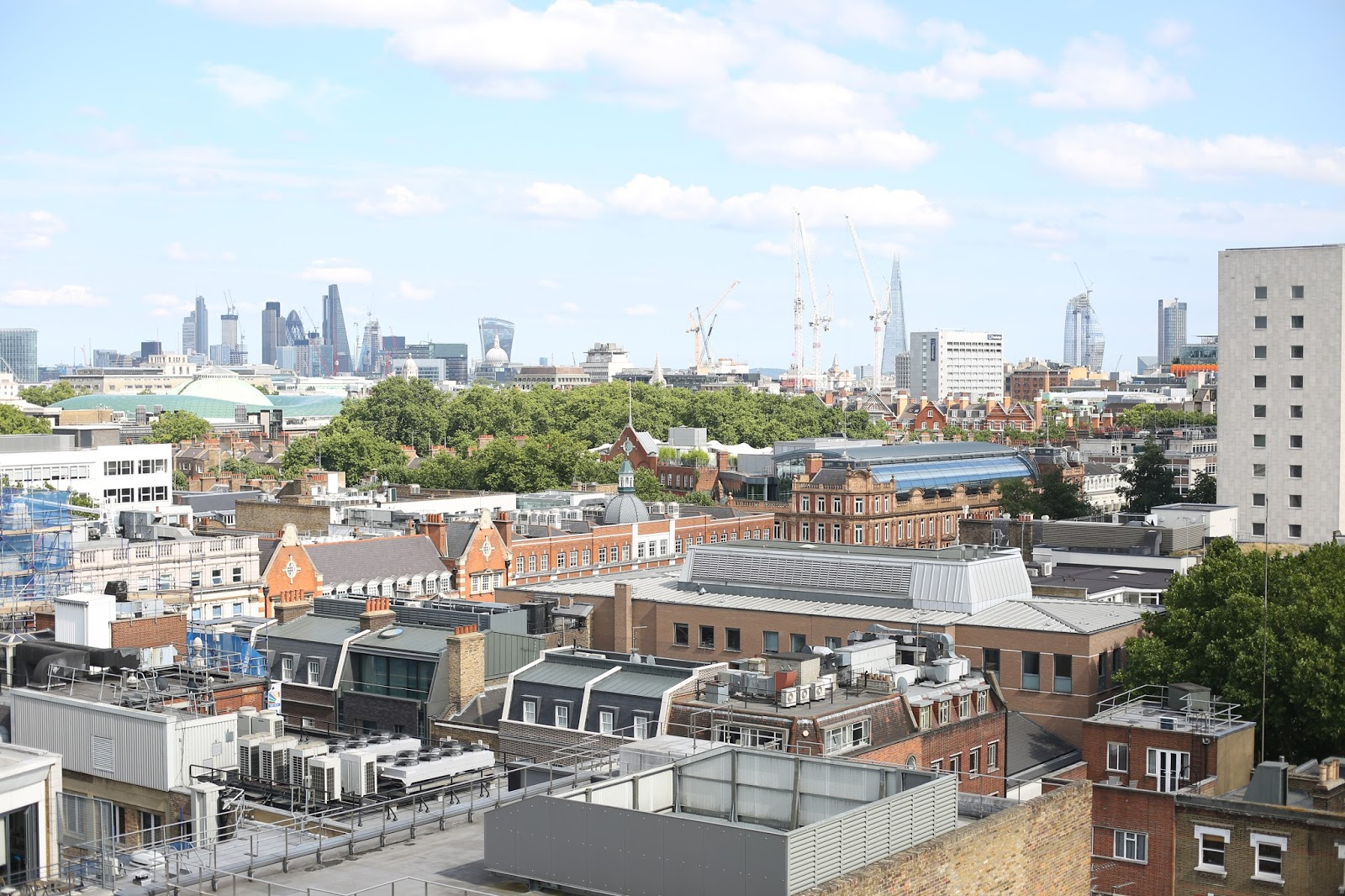 London panoramic views