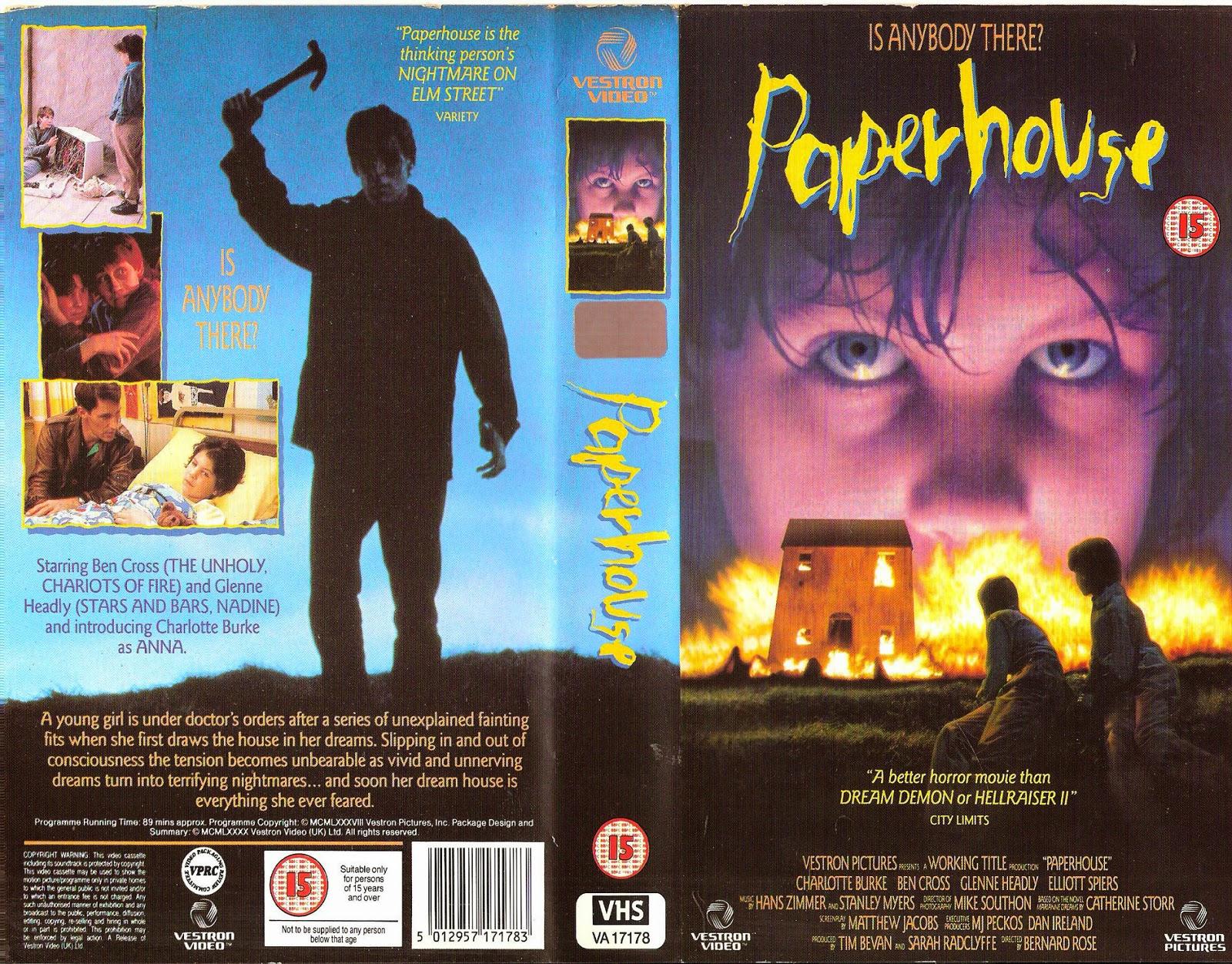 Paperhouse 1988 sue os alterados la casa de papel - Casas de peliculas ...