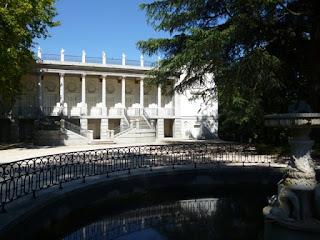 Palacete de los Duques de Osuna. Jardín de El Capricho