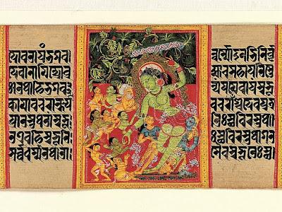 Ashtasahasrika Prajnaparamita Painting