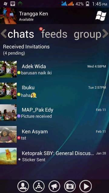 BBM Windows Phone Transparent V3