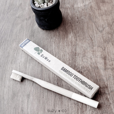 bamboo toothbrush for zero waste living
